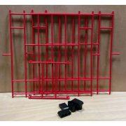 466 - Plastic Junior Nest Fronts - Red