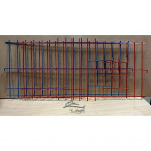 2025 - 1 Piece Wire Nest Front - Blue or Red