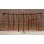 2025 - 1 Piece Wire Nest Front - Red