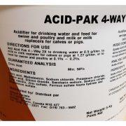 380L Acid-Pak 4 Way 1 kg Desc